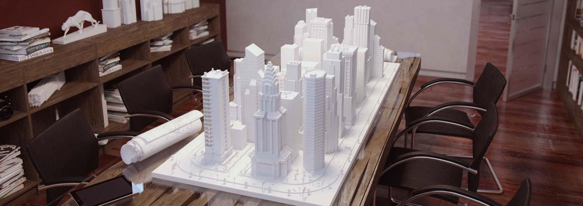Модель городского квартала