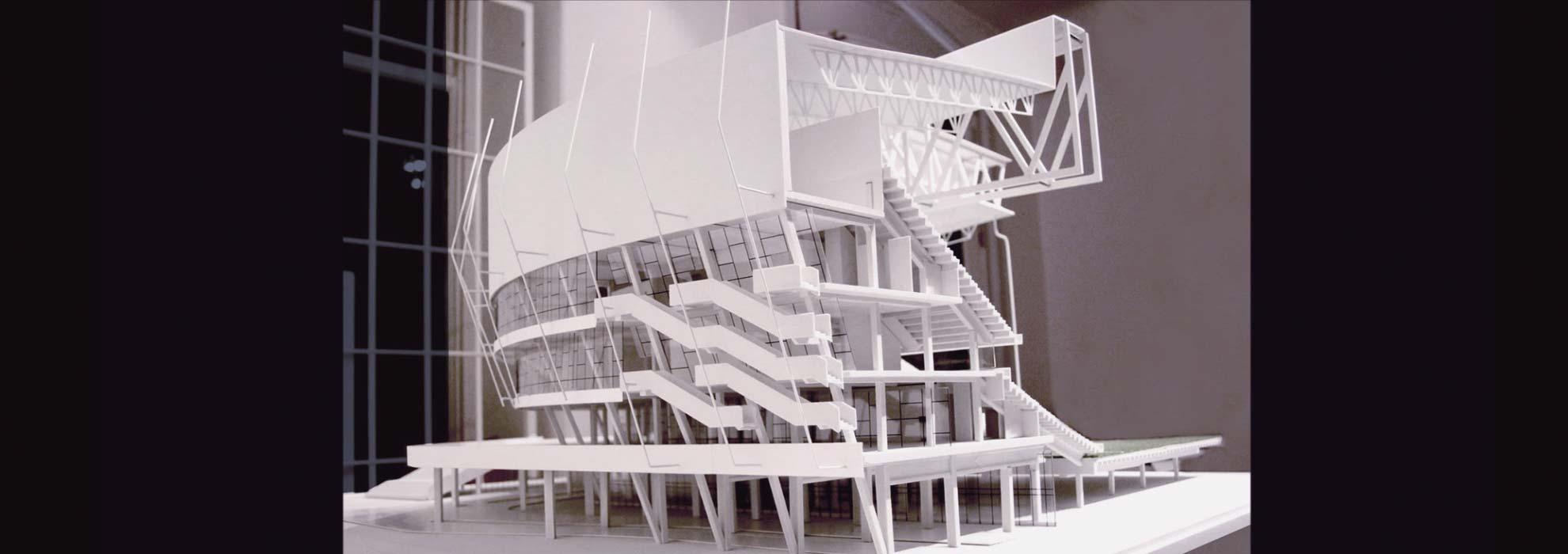 Модель проекта здания