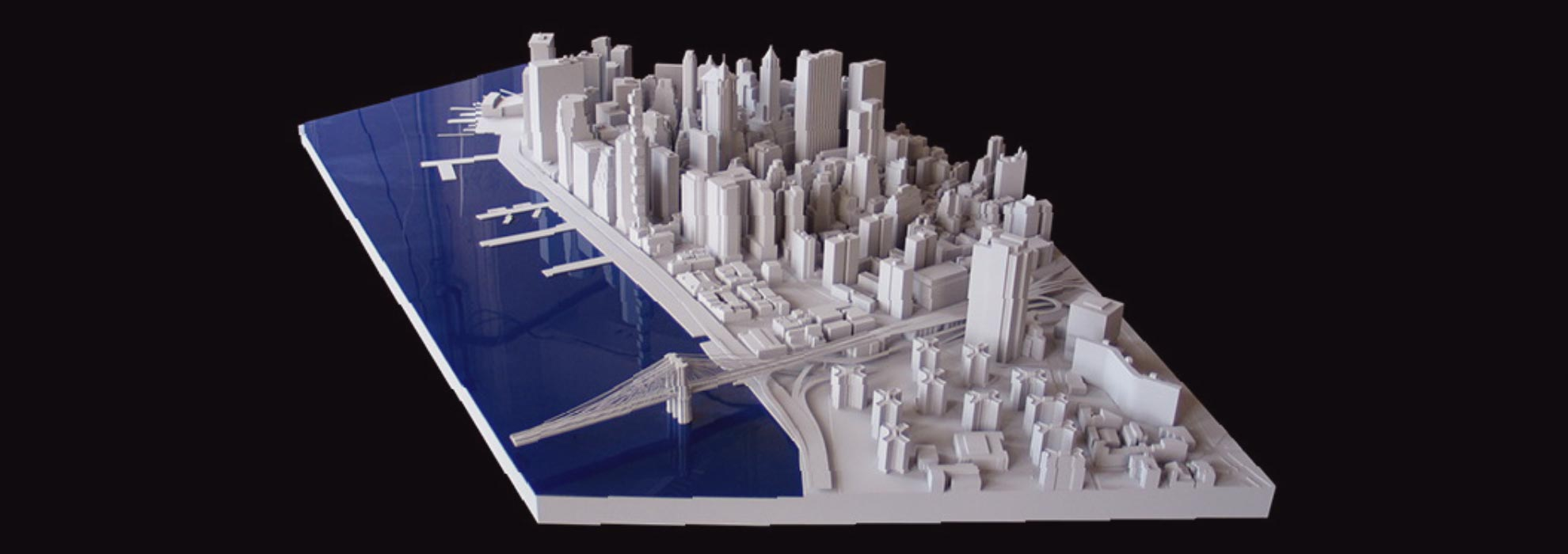 Модель проекта архитектурной застройки