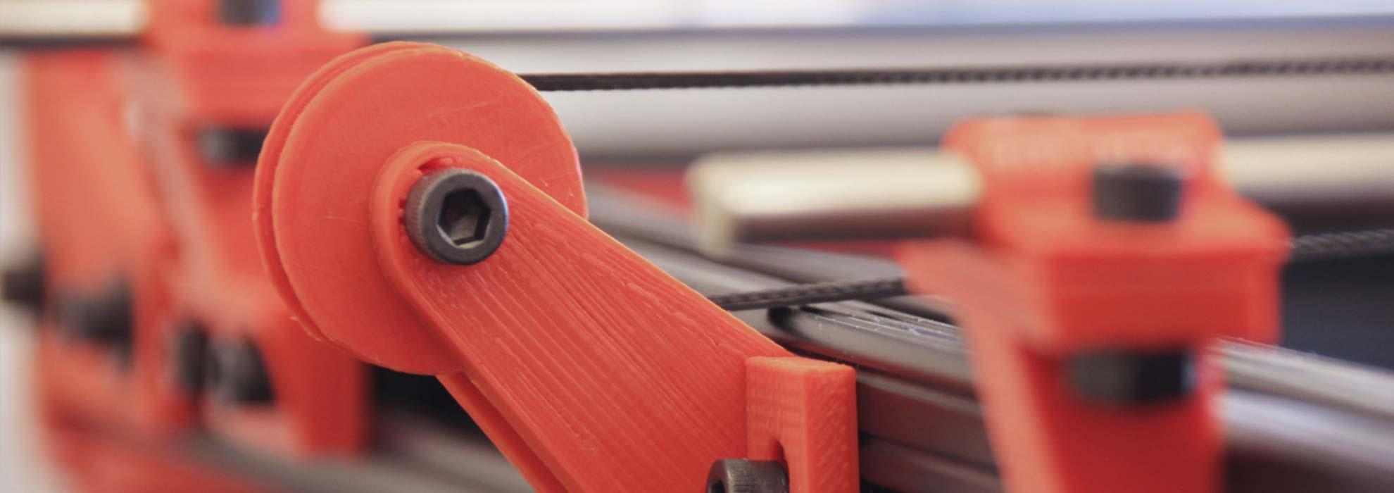 Комплектующие напечатанные на 3Д принтере