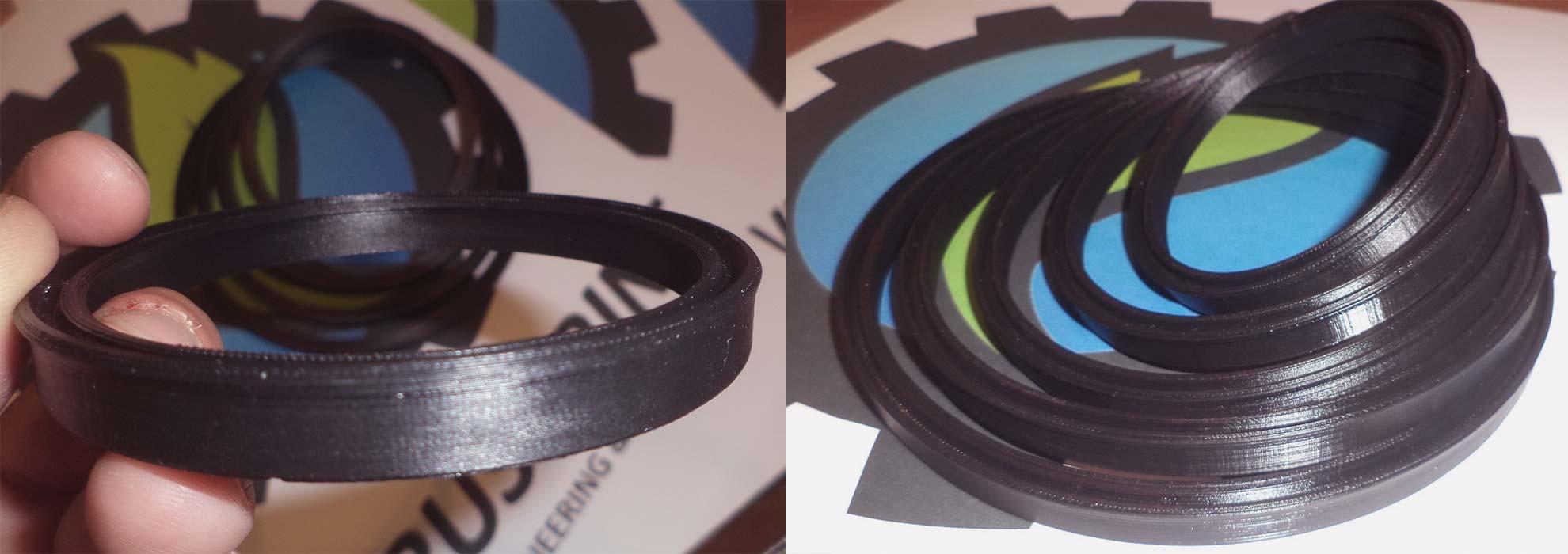 Черные ремкомплекты различных размеров