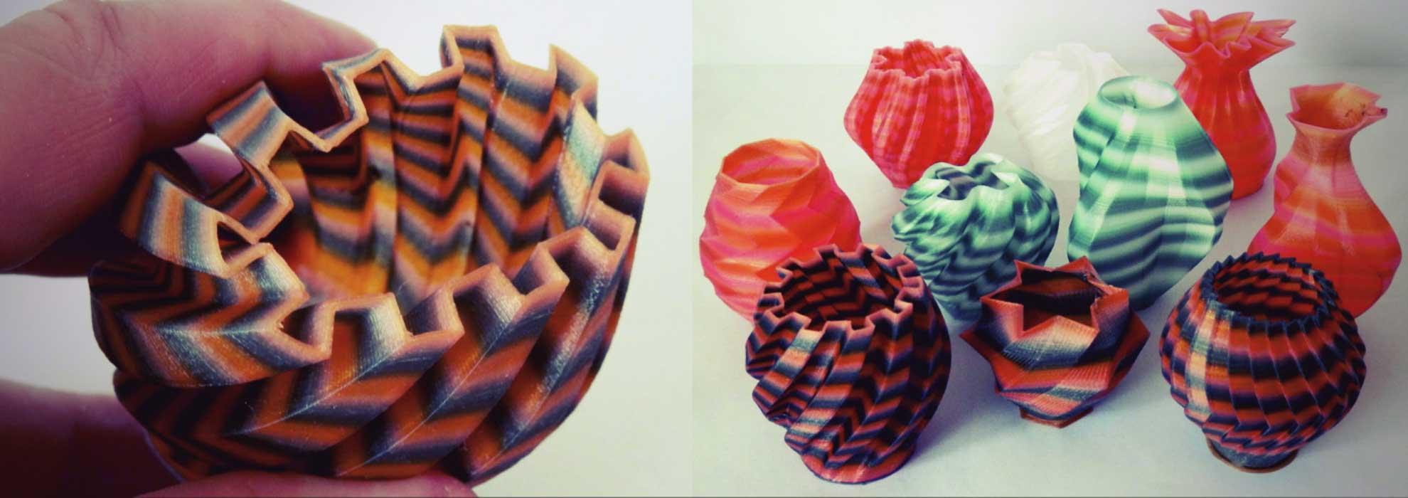 Маленькие оригинальные вазочки