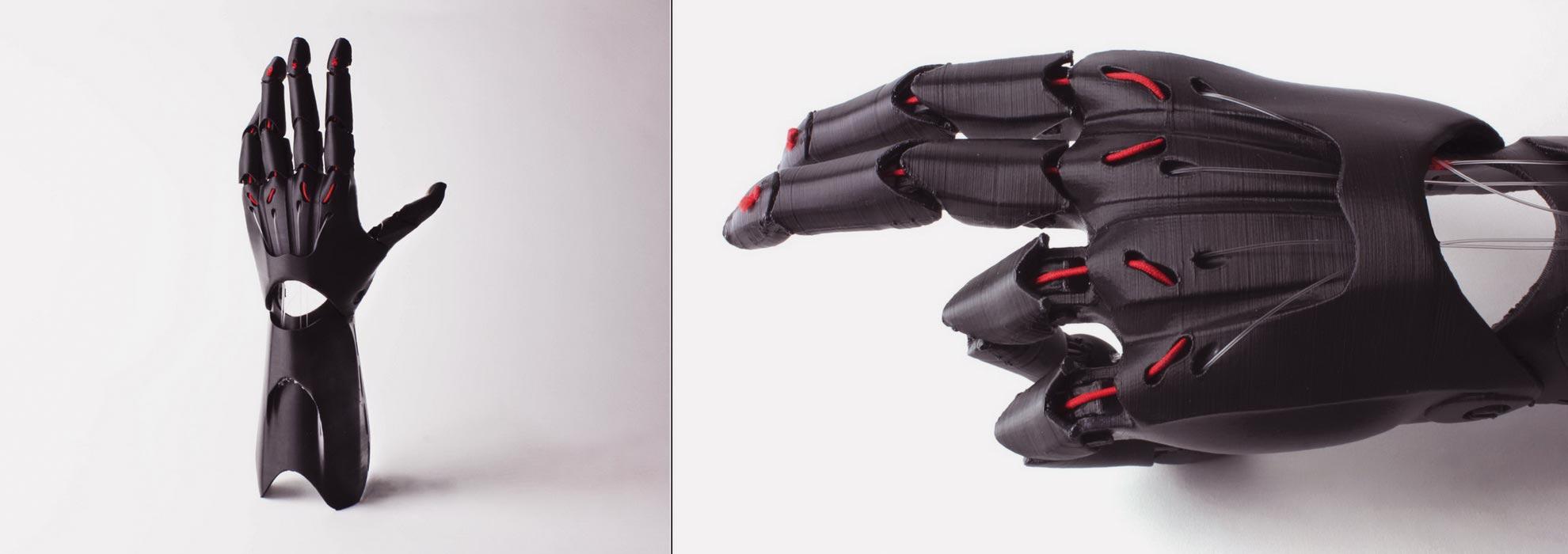 Протез кисти руки напечатанный на 3Д принтере