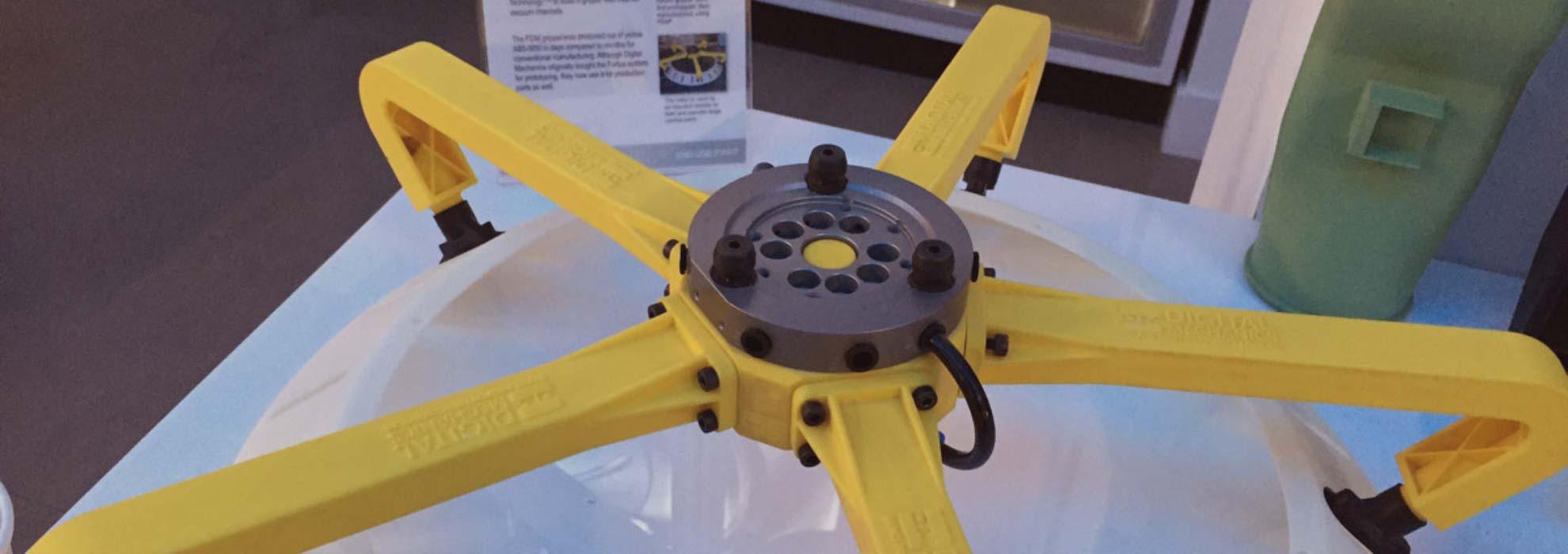 Устройство изготовленное с помощью 3Д печати