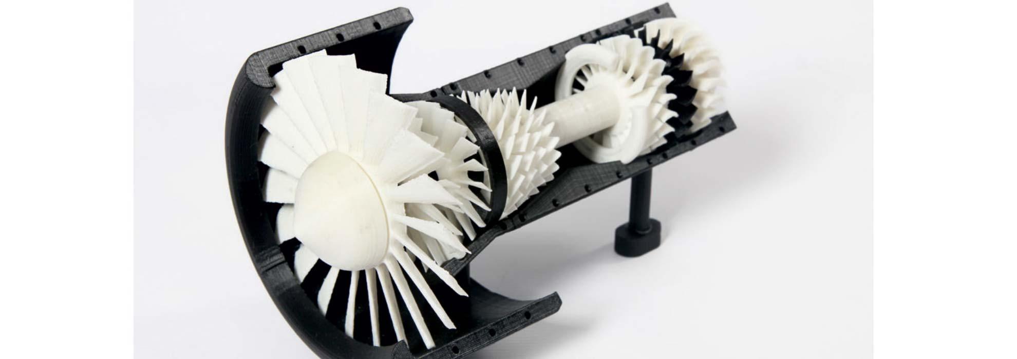 Макет турбины