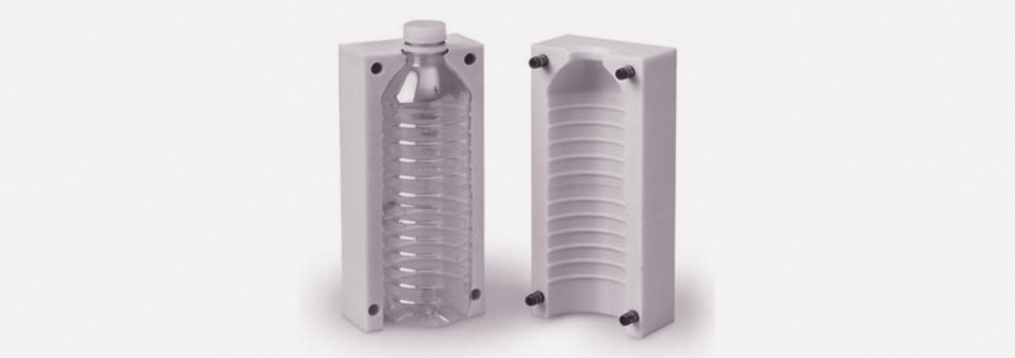 Форма для изготовления фигурных пластиковых бутылок