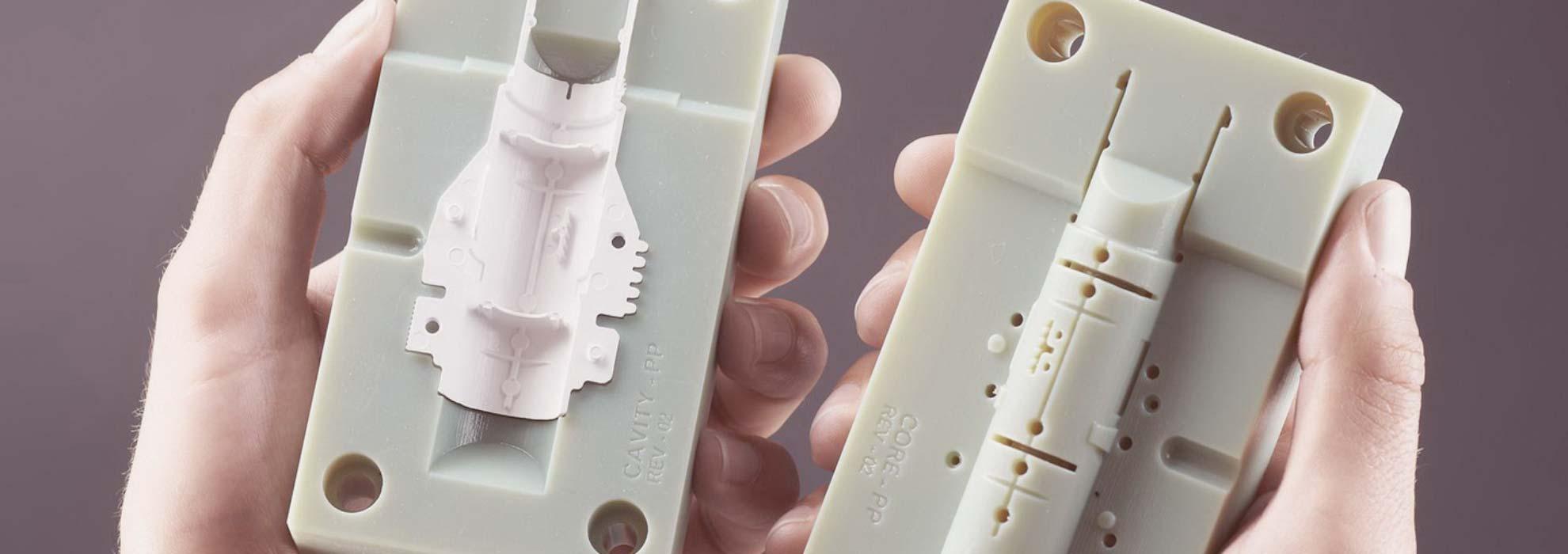 Детали прибора напечатанные на 3Д принтере