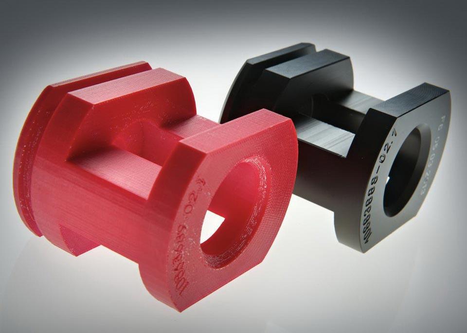 Пластиковые детали произведенные методом литья пластика в силиконовые формы