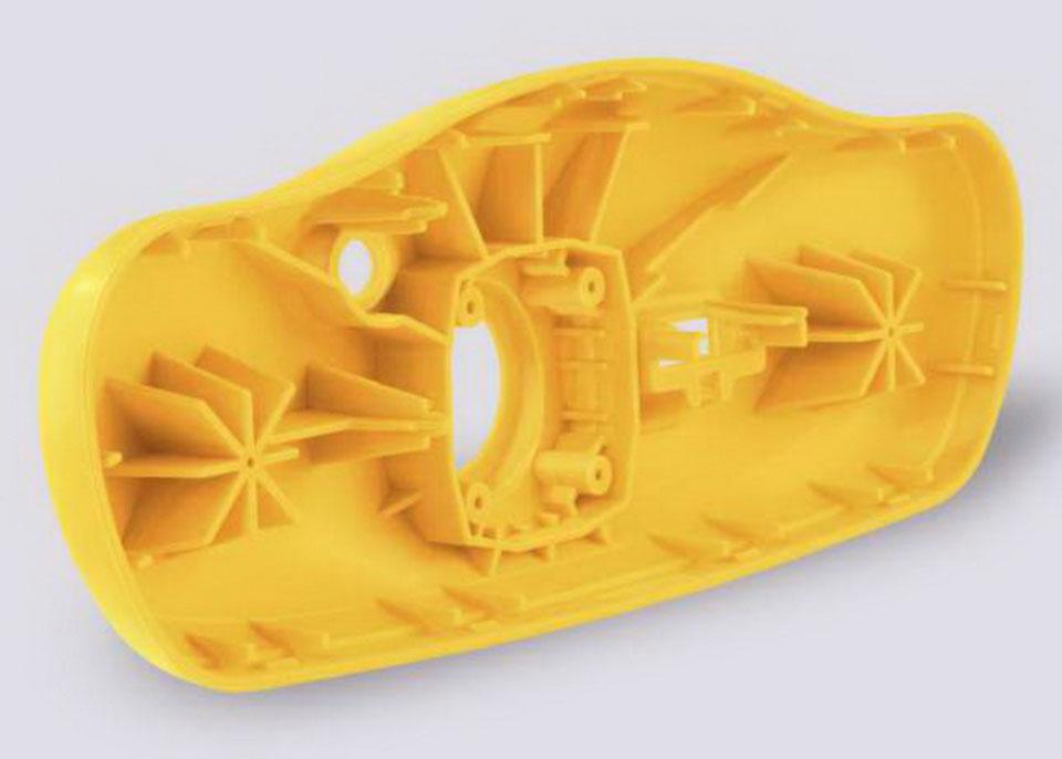 Пластиковый корпус произведенный методом литья пластика в силиконовые формы