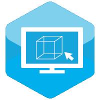 иконка - услуги 3d-моделирование